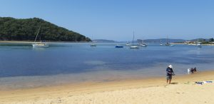 View of Ettalong Beach looking out towards the Hawksbury River