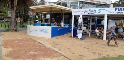 Avoca Beach Seafoods and Avoca Sands