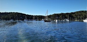 Hardys Bay is the northern aspect of Killcare situated on the edge of Brisbane Waters. It features a wharf, marina and a collection of shops and restaurants.