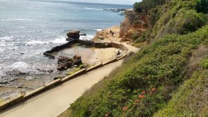 children love playing in the Terrigal Rock Pool.