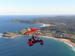 flying high over Terrigal