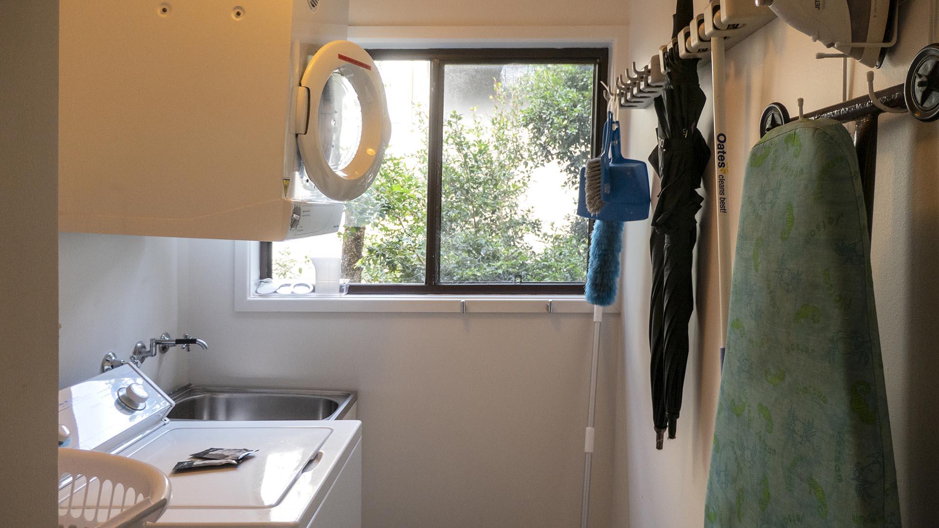Adequate Laundry with Washing machine plus dryer. Copa Beachside.
